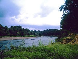 Ouachita River - Ouachita River in Ouachita County, AR