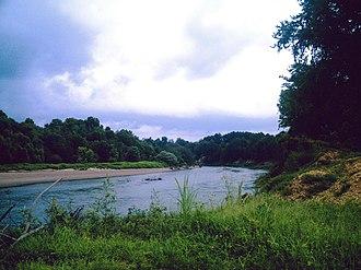 Ouachita River - Ouachita River in Ouachita County, AR