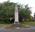 Oulton War Memorial - Aberford Road - geograph.org.uk - 841837.jpg