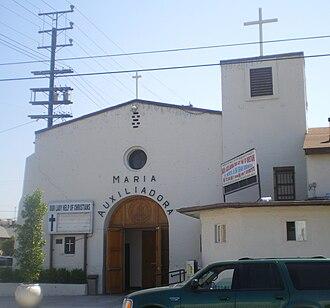 San Gabriel Pastoral Region - Image: Our Lady Help of Christians (Maria Auxiliadora) Church, Los Angeles