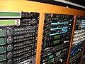 Outboard racks 1-2, PatchWerk Recording Studios, 2007.jpg
