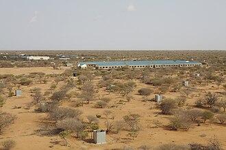 Dadaab - Ifo II camp in Dadaab.
