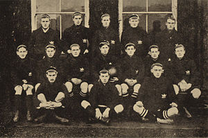 Denys Dobson - Oxford University XV 1901, Dobson is back row far right