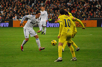 Villarreal CF - Real Madrid C.F. vs. Villarreal CF in 2011.