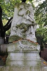 Laurent Marqueste: Alexandre Falguière's grave