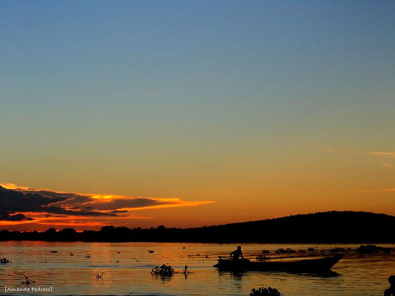 File:Pôr do sol no rio São Francisco. Santa Maria da Boa Vista, Pernambuco, Brasil 1.JPG