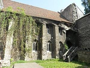 St. Catherine's Monastery, Tallinn - Surviving parts of St. Catherine's Dominican Monastery in Tallinn
