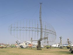P-14 radar in Technical museum Togliatti.jpg