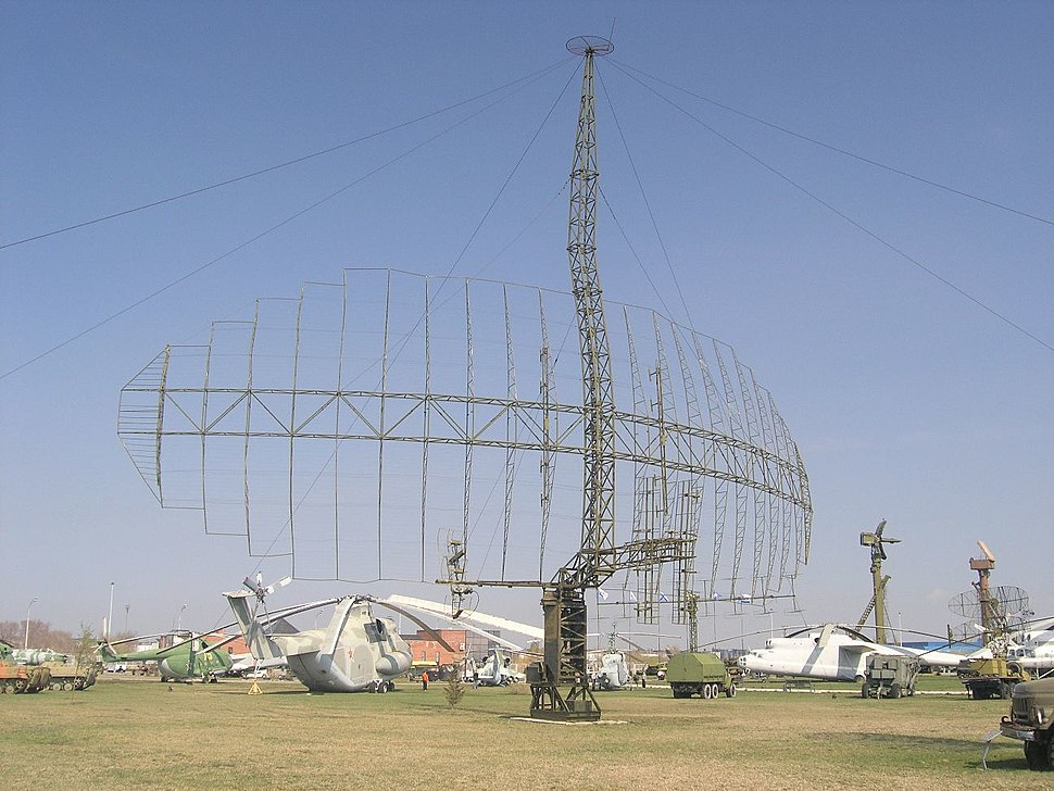 P-14 radar in Technical museum Togliatti