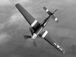Vermont Garrison - P-51B Mustang.