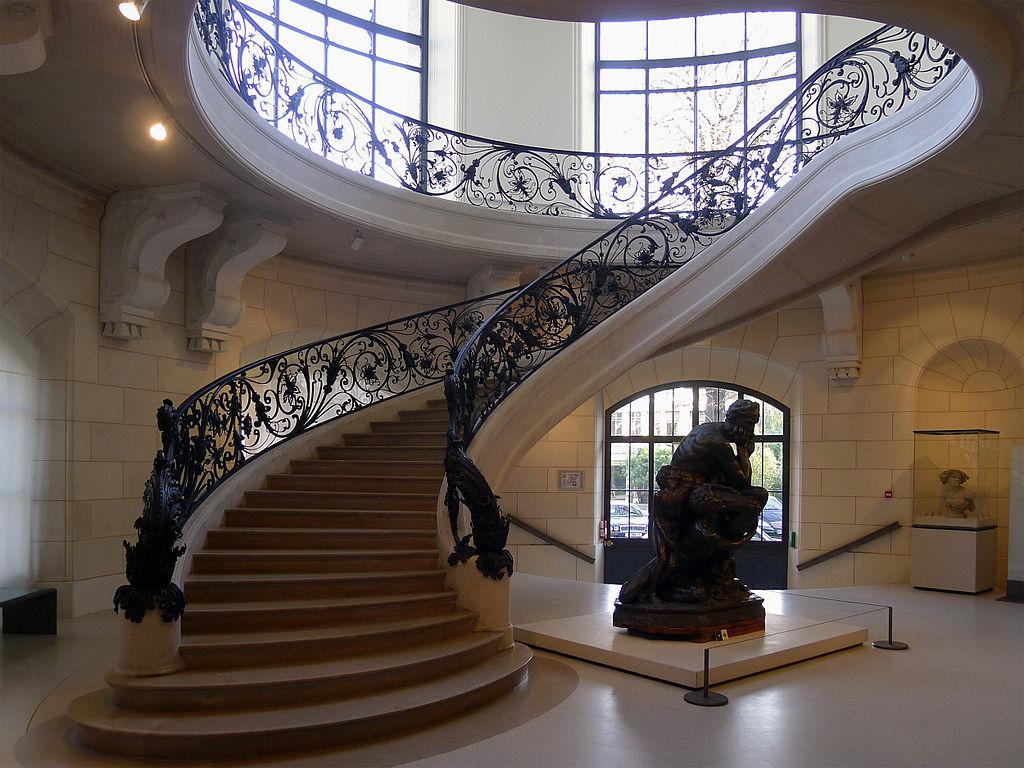 File p1130897 paris viii petit palais escalier wikimedia commons - Escalier colimacon petit diametre ...