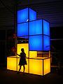 PAX Australia 2013 - Tetris statue (15405450752).jpg