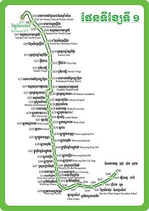 Line 01 (Phnom Penh Bus Rapid Transit) - Wikipedia