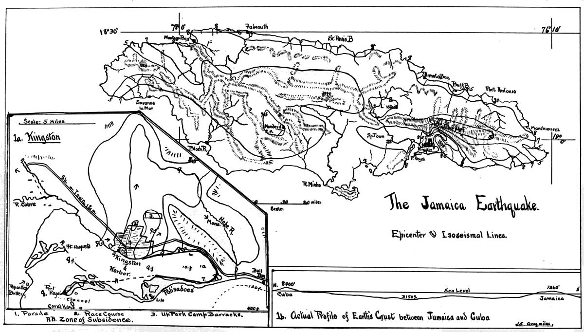 1907 Kingston earthquake  Wikipedia