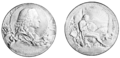 PSM V71 D292 Medal honoring bicentennial of linnaeus birth.png