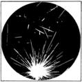 PSM V87 D125 Tracks of alpha particles from central points.png