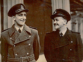 P H F Hawkins DFM and K J Stevens DFM at Buckingham Palace, May 1944,.png