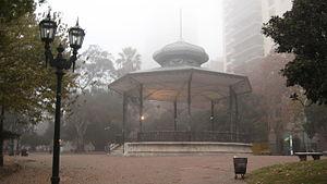 Belgrano C - Bandstand in the Barrancas de Belgrano Park