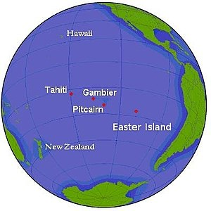 Outline of the Pitcairn Islands