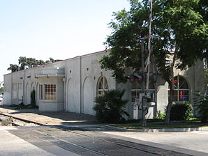 Pacific Electric Depot in Rialto