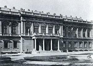 Palais Toskana - Palais Toskana, early 1900