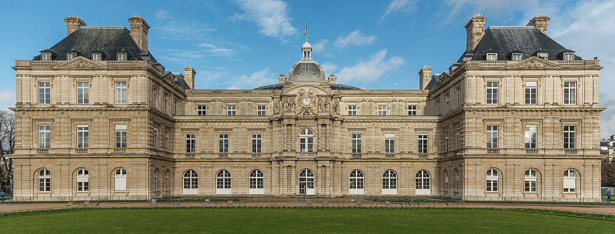 Fichier:Palais du Luxembourg, South View (Crop) 20140116 1.jpg — Wikipédia