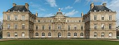 Palais du Luxembourg, South View (Crop) 20140116 1.jpg