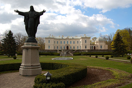 The Summer Palace of Tyszkiewicze Family in Palanga, Lithuania