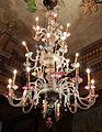 Palazzo colonna, appartamenti di donna isabella, lampadario in vetro di murano 02.JPG