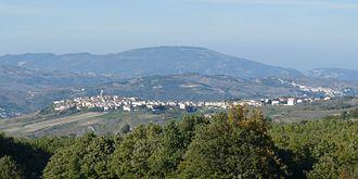 Petrella Tifernina - Image: Panorama di Petrella Tifernina