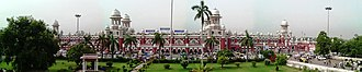 Lucknow Charbagh railway station - Panoramic view of Lucknow station