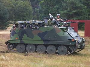 Pansarbandvagn 302 - A Pbv 302 at combat exhibition