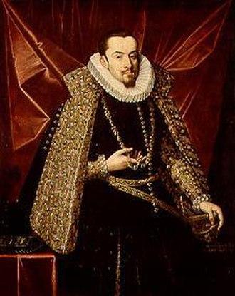 Siege of Amiens (1597) - Archduke Albert of Austria by Juan Pantoja de la Cruz