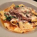 Pappardelle with lamb sugo (17163334639).jpg