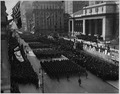 "Parade of Famous 369th Infantry on Fifth Avenue New York City. Colonel ""Bill"" Hayward's famous ""Hel . . . - NARA - 533495.tif"