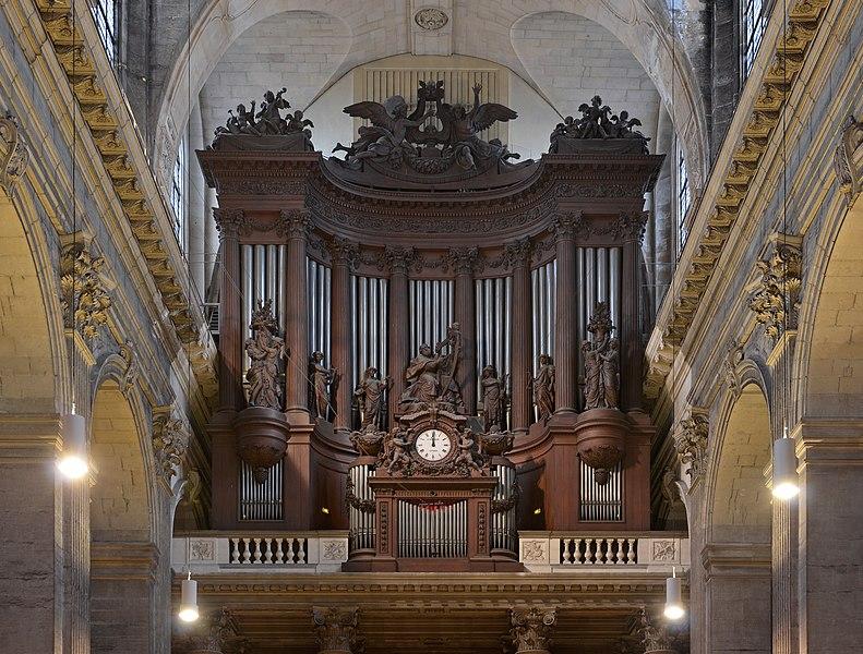 File paris 06 st sulpice organ wikimedia commons for Domon furniture st eustache