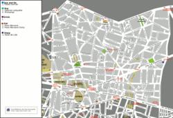 מפת הרובע התשיעי של פריז