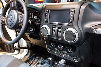 Jeep Wrangler (JK) - Interior