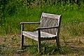 Park bench -Lackford Lakes, Suffolk, England-30July2010.jpg