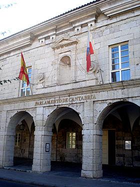 Parlamento de cantabria wikipedia la enciclopedia libre for Gobierno exterior