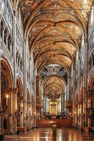 Parma Cathedral - Interior