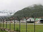 Paro Airport from outside the fence, July 2016 08.jpg