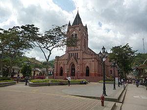 San Roque, Antioquia - Image: Parque de San Roque 2