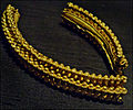 Part of a Gold Torc from the Stirling Hoard (9479457094).jpg