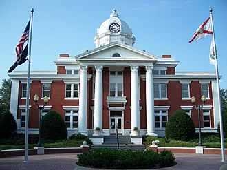 Pasco County, Florida - Image: Pasco Cty Courthouse Dade City