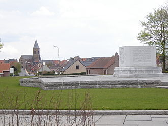 Passendale - Canadian Memorial in Passendale