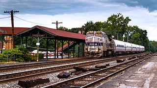Latrobe station train station in Latrobe, Pennsylvania