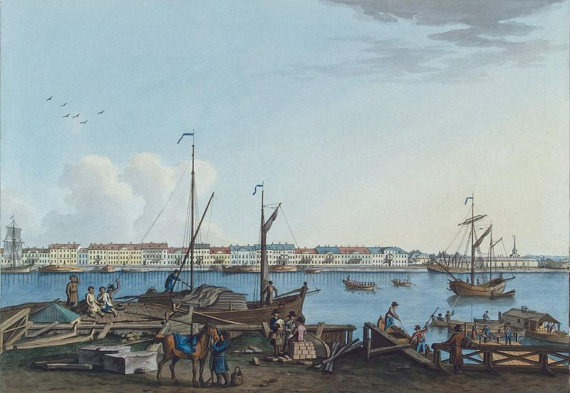 File:Paterssen View of English Embankment and Galerny Dvor from Vasilyevsky Island part3 1799.jpg