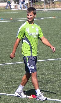 Patrick Ianni Seattle Sounders in training.JPG