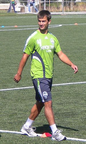 Patrick Ianni - Image: Patrick Ianni Seattle Sounders in training